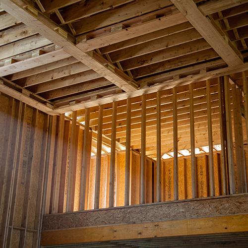 Construction of Benjamin Marcus Home