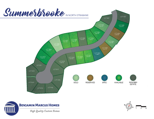 Summerbrooke Site Plan