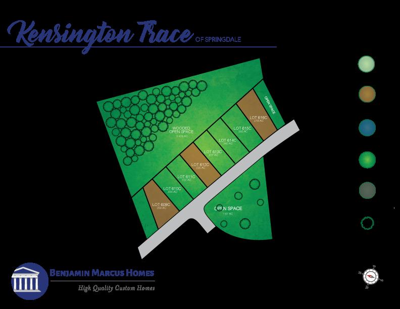 Kensington Trace Site Plan