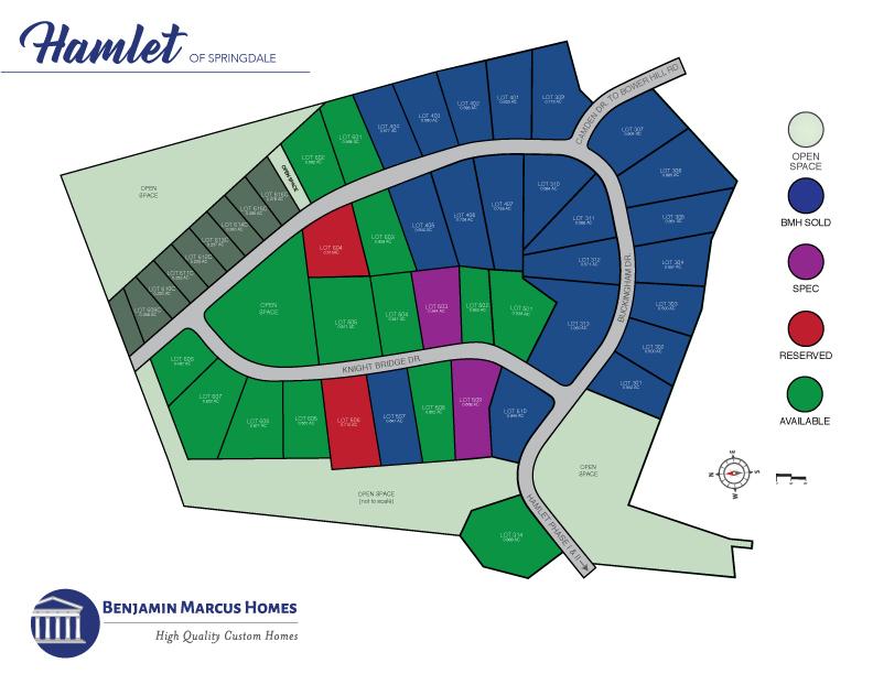 Hamlet of Springdale Site Plan