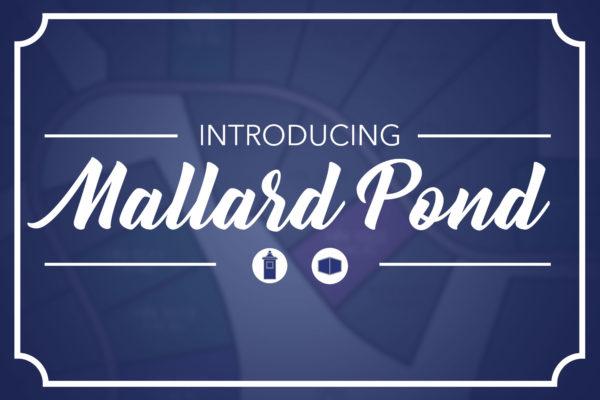 Introducing Mallard Pond