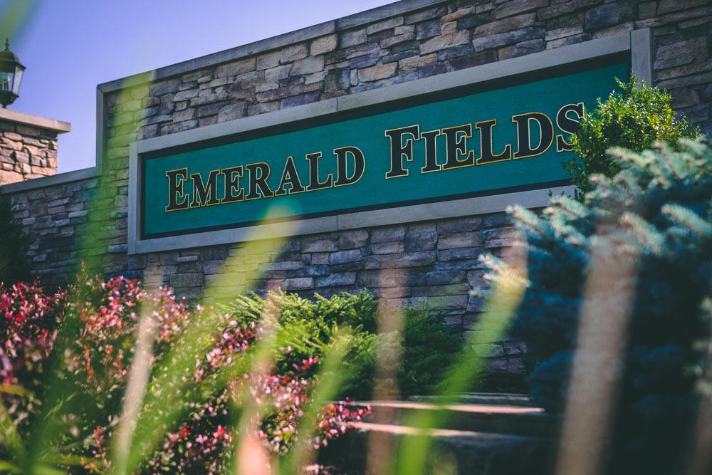 Emerald Fields Sign