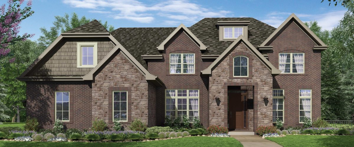 Rendering of Home at Emerald Fields