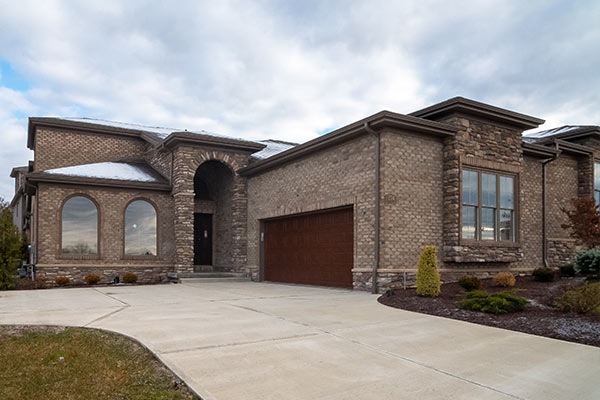 Exterior shot of 204 Lucca Lane in Siena at St. Clair