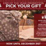 Pick Your Gift Promotion Graphic