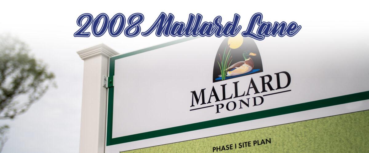 2008 Mallard Lane in Mallard Pond