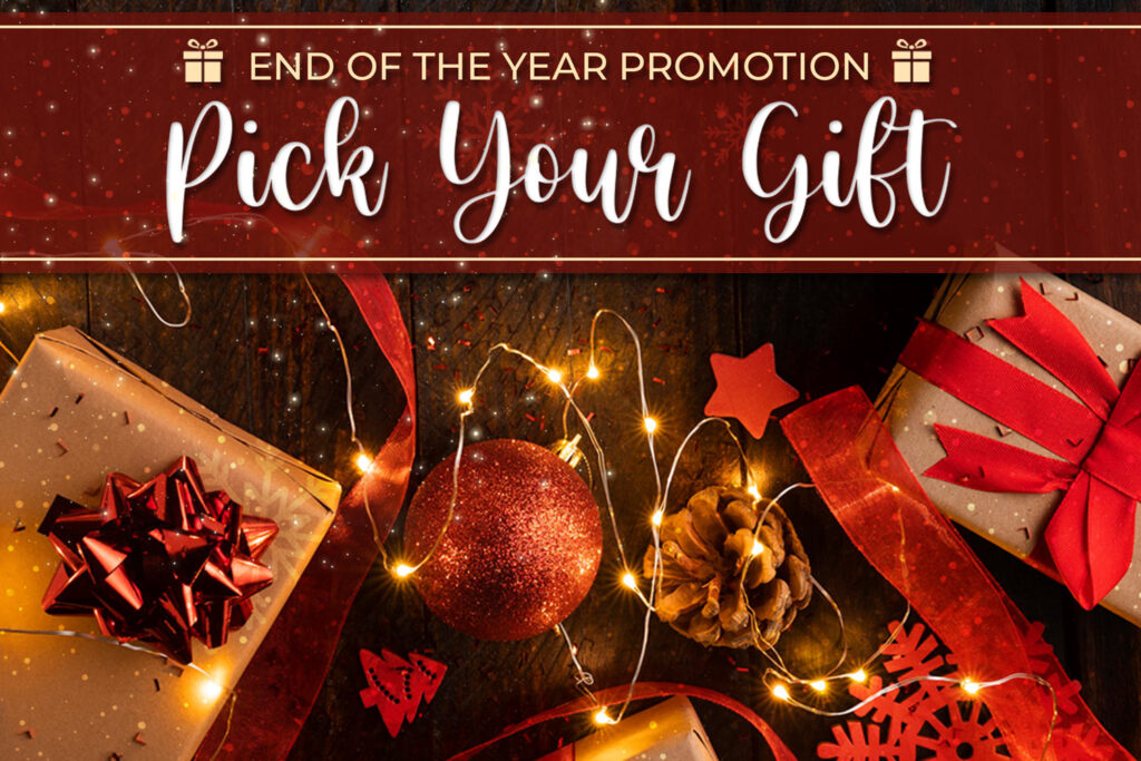 Pick Your Gift Holiday Promotion