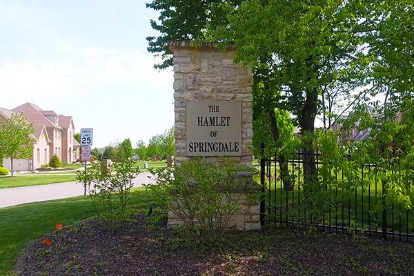 Entrance of Hamlet of Springdale
