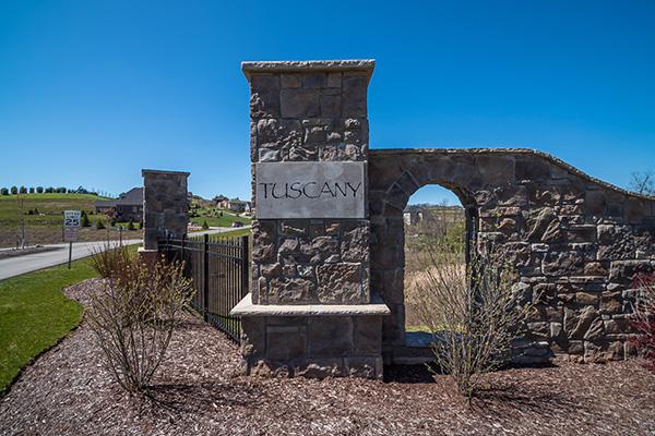 Entrance to Tuscany