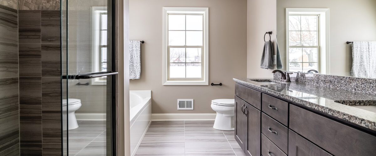 Master Bathroom of 251 Lucca Lane in Siena at St. Clair