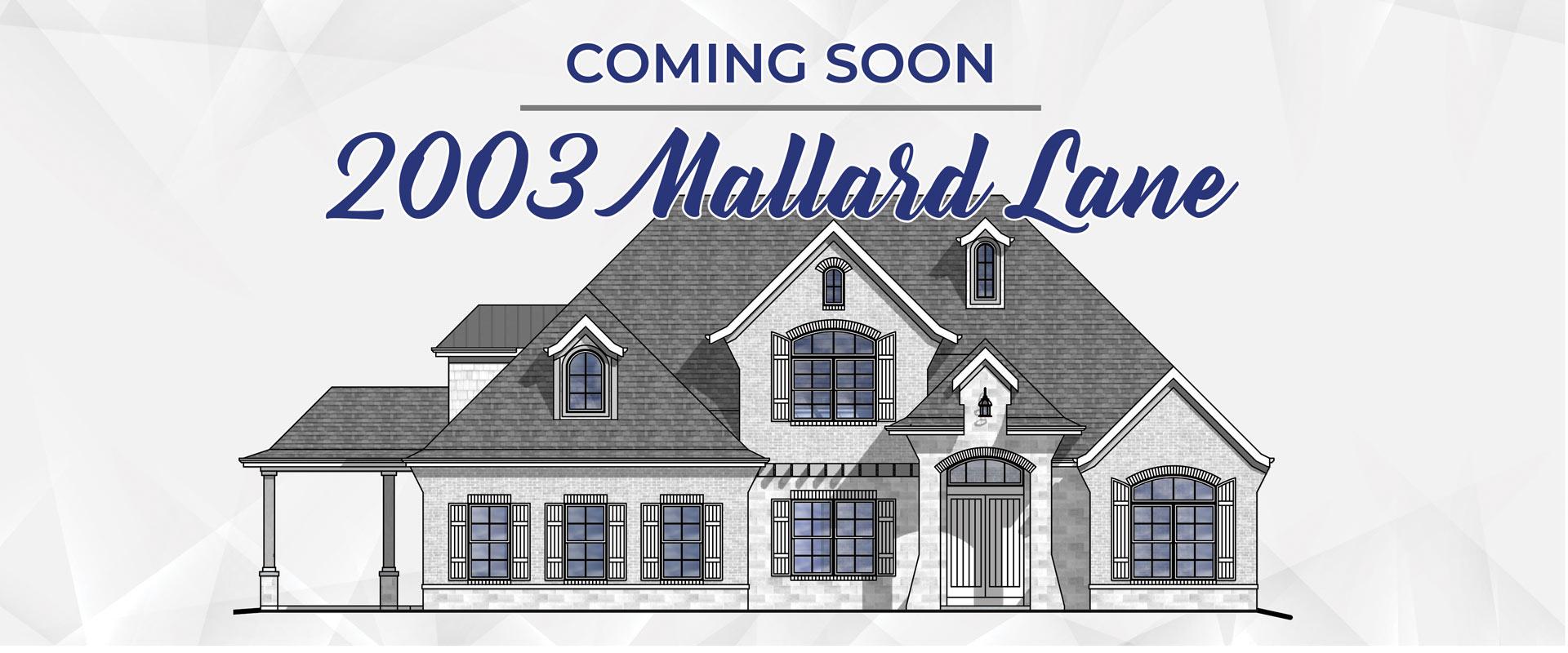 2003 Mallard Lane in Mallard Pond